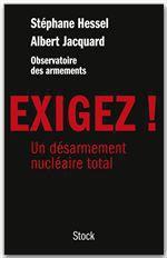 Vente Livre Numérique : Exigez !  - Albert Jacquard