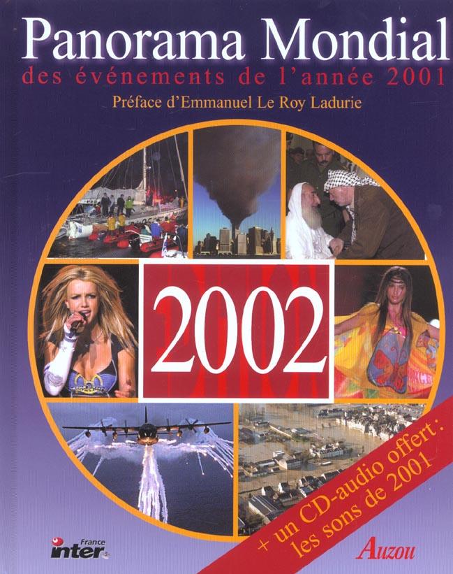 Panorama de l'année 2001 (édition 2002)
