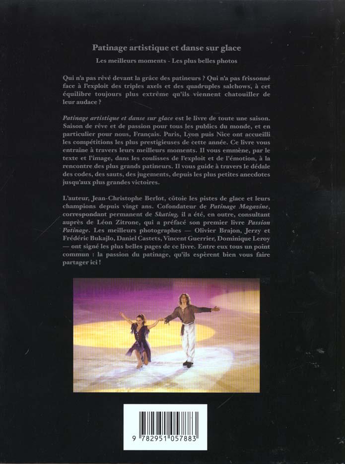Patinage artistique et dans sur glace ; jo 2000