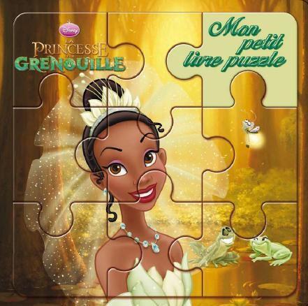 Mon Petit Livre Puzzle; La Princesse Et La Grenouille