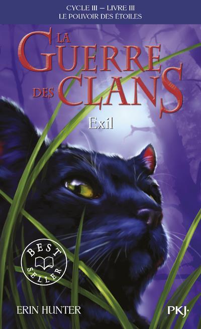 la guerre des clans - cycle 3 ; le pouvoir des étoiles t.3 ; exil