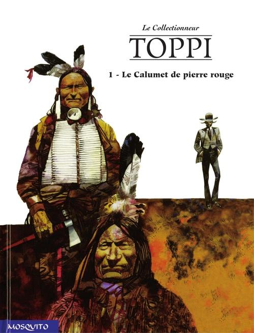 Vente EBooks : Bande dessinee - t04 - le calumet de pierre rouge  - Sergio Toppi