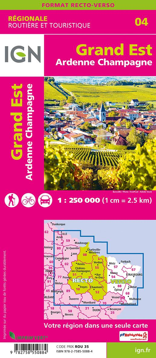NR04 ; Grand Est ; Ardenne, Champagne (2e édition)