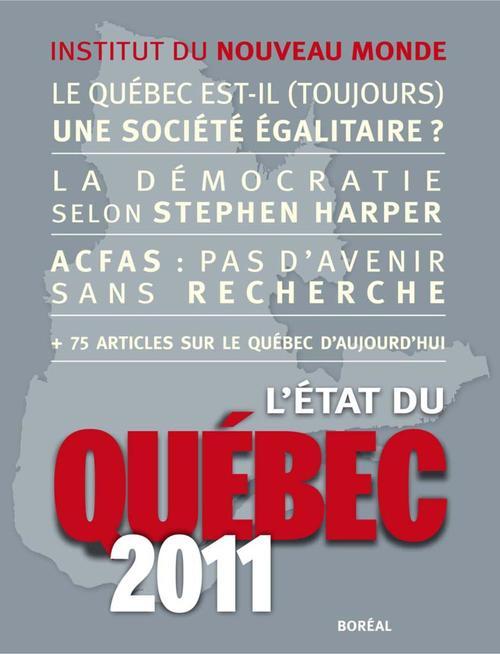 L'Etat du Québec 2011
