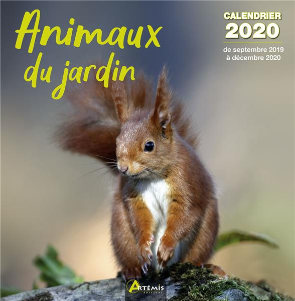 Calendrier Animaux.Calendrier Animaux Du Jardin Edition 2020 Collectif