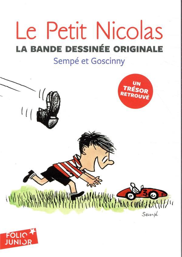 Le Petit Nicolas ; la bande dessinée originale