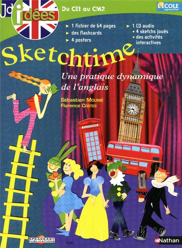 JDIDEES ; sketchtime ; une pratique dynamique de l'anglais ; du CE1 au CM2