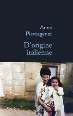 Vente Livre Numérique : D'origine italienne  - Anne Plantagenet