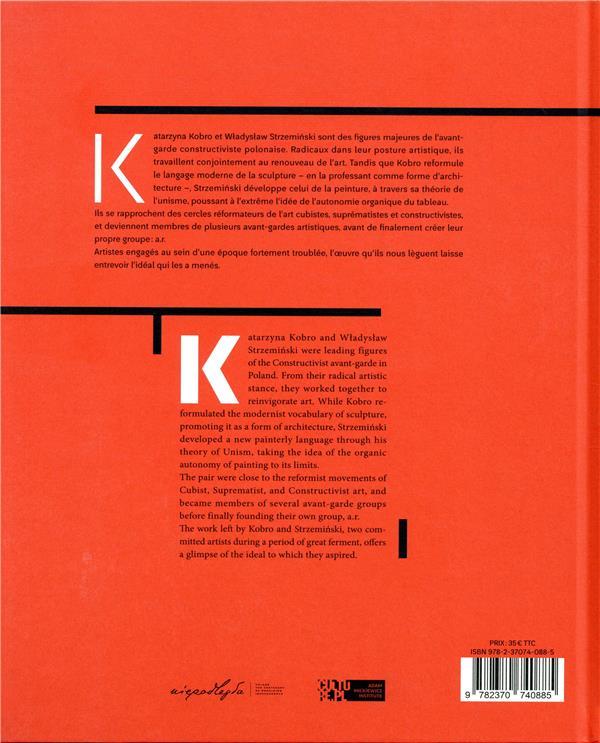Katarzyna Kobro et Wladyslaw Strzeminski ; une avant-garde polonaise