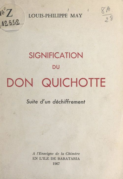 Signification du Don Quichotte