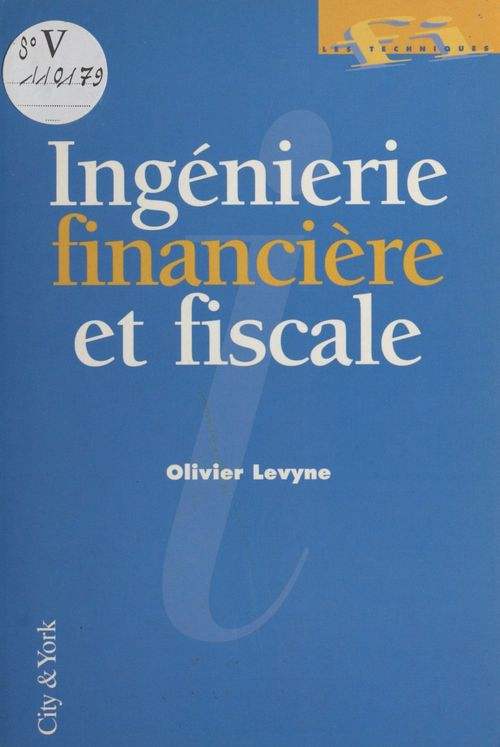 Ingenierie financiere  fiscal