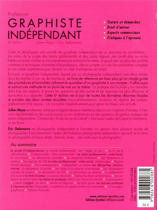 profession graphiste indépendant (6e édition)