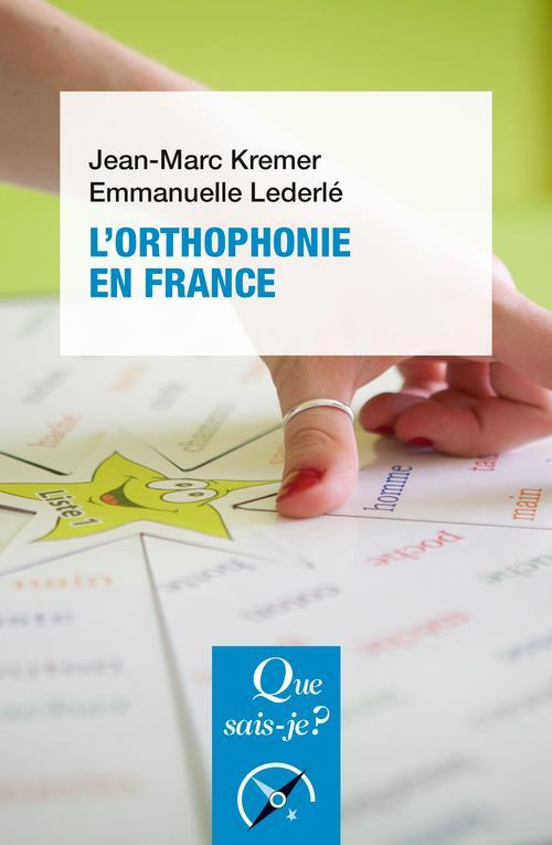 L'orthophonie en France (9e édition)