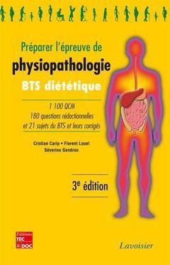 Préparer l'épreuve de physiopathologie (3e édition)
