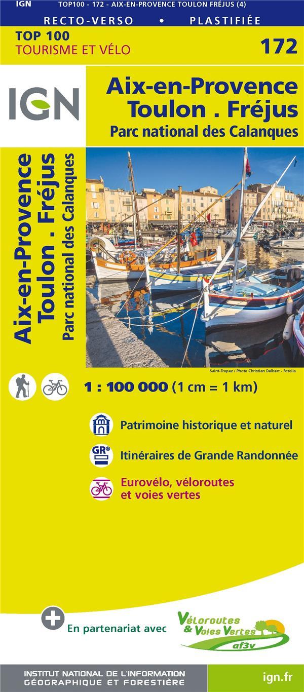 TOP100172 ; Aix-en-Provence, Toulon, Fréjus, parc national des Calanques