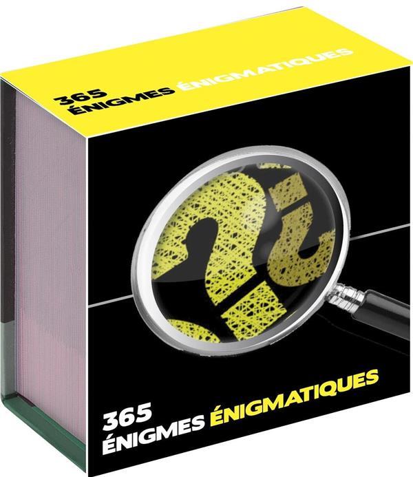 365 ENIGMES ENIGMATIQUES  -  MINI CALENDRIER