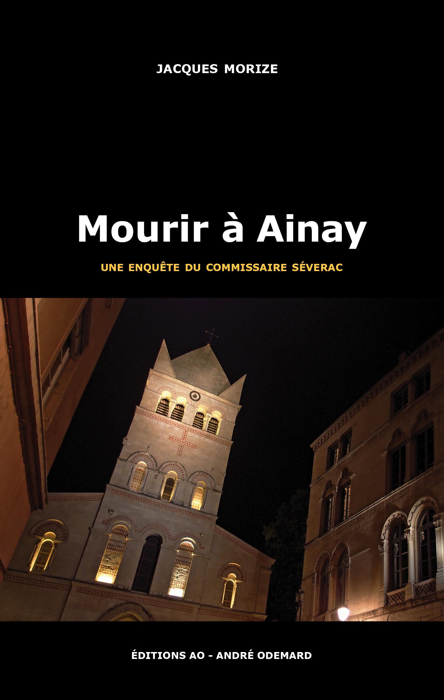 Mourir a ainay (une enquete du commissaire severac)