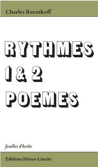 Rythmes 1 et 2 ; poèmes