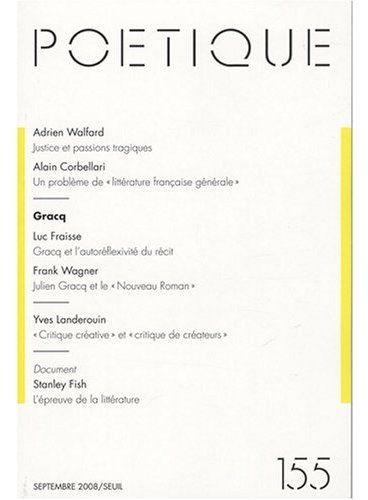 Revue poetique t.155; septembre 2008