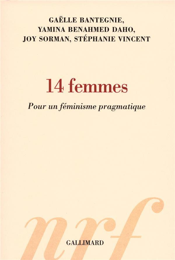 14 femmes ; pour un féminisme pragmatique