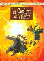 Couverture de Lapinot (Les Aventures Extraor - Les Formidables Aventures De Lapinot - Tome 7 - La Couleur De L'Enf