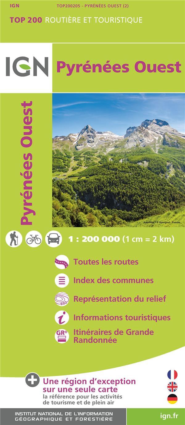TOP200205 ; Pyrénées Ouest (2e édition)
