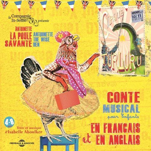 Vente AudioBook : Antoinette la poule savante - The wise hen  - Isabelle Aboulker