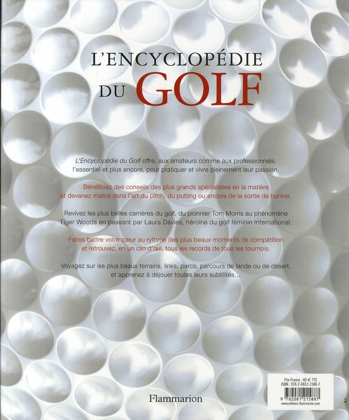l'encyclopédie du golf