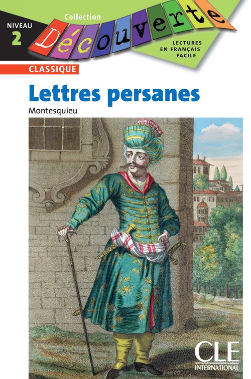 Les lettres persanes - Niveau 2 - Lecture Découverte - Ebook