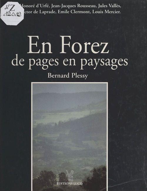 En forez de pages en paysages