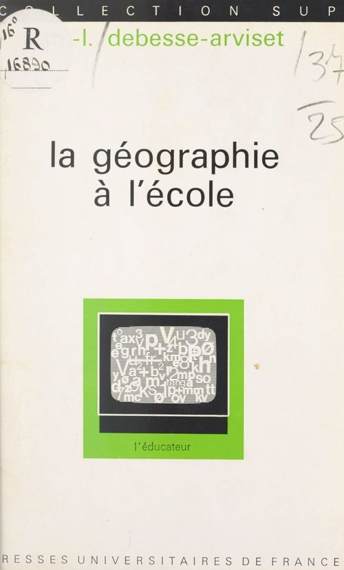 La géographie à l'école