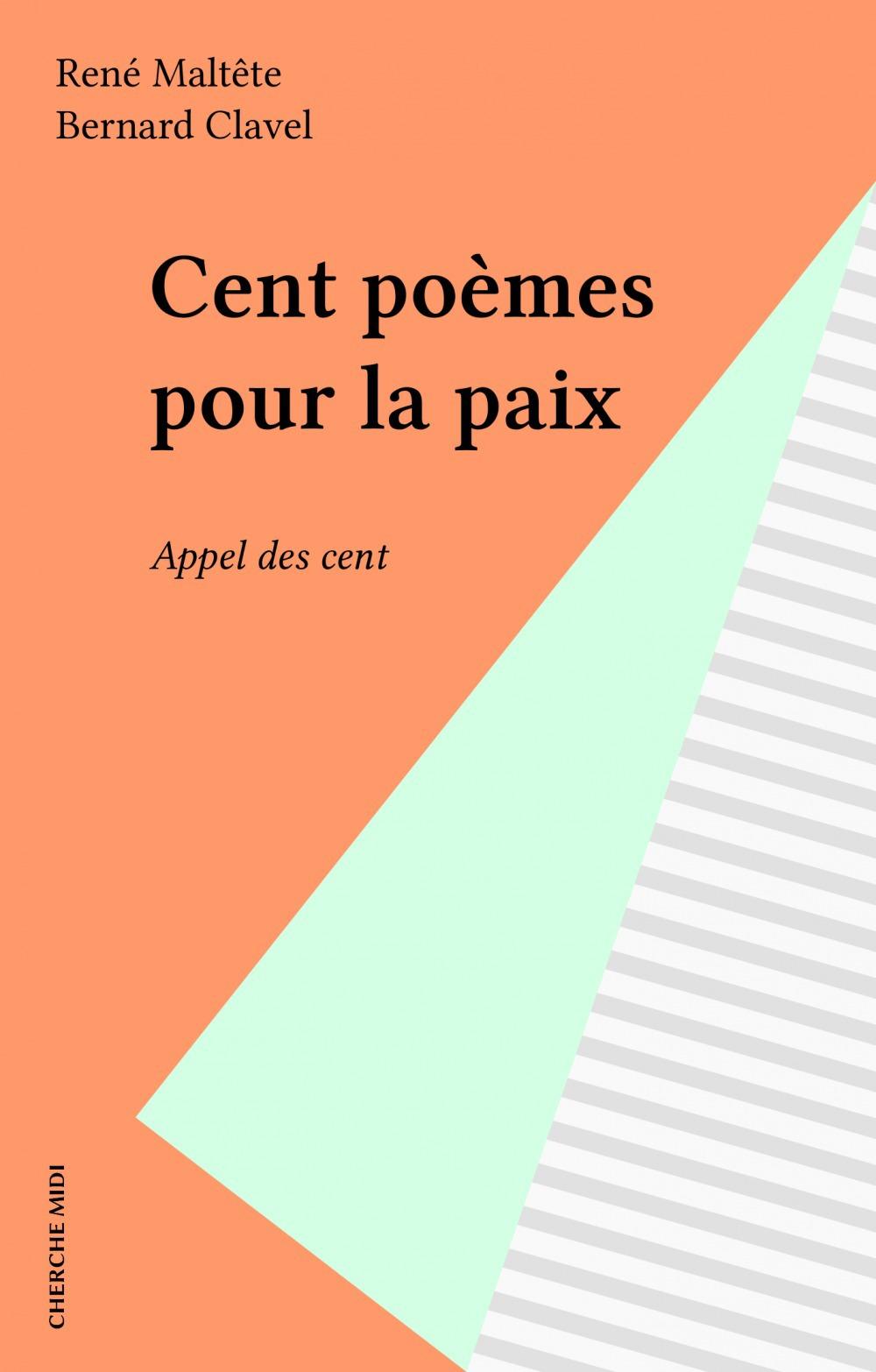 Cent poemes pour la paix