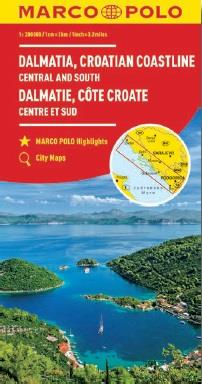 Dalmatie, côte croate ; centre et sud