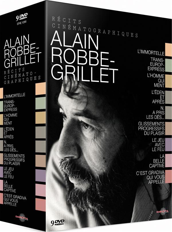 Alain Robbe-Grillet - Récits cinématographiques - Coffret 9 DVD