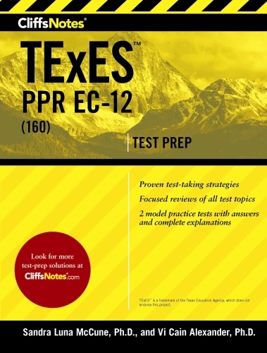 CliffsNotes TExES PPR EC-12 (160)