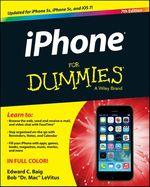Vente Livre Numérique : IPhone For Dummies  - Edward C. BAIG - Bob LEVITUS