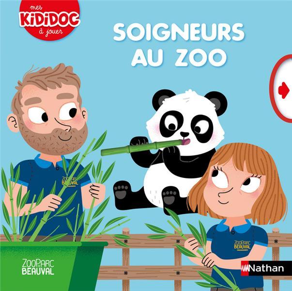 Soigneurs au zoo Beauval