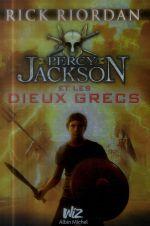 Couverture de Percy jackson t.6 ; percy jackson et les dieux grecs