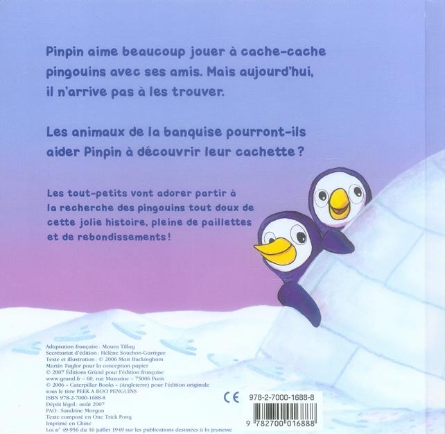 Cache-cache pingouins