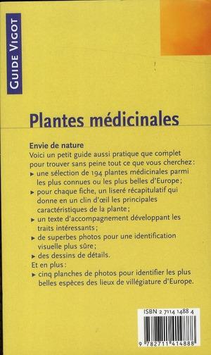 Plantes médicinales communes d'Europe
