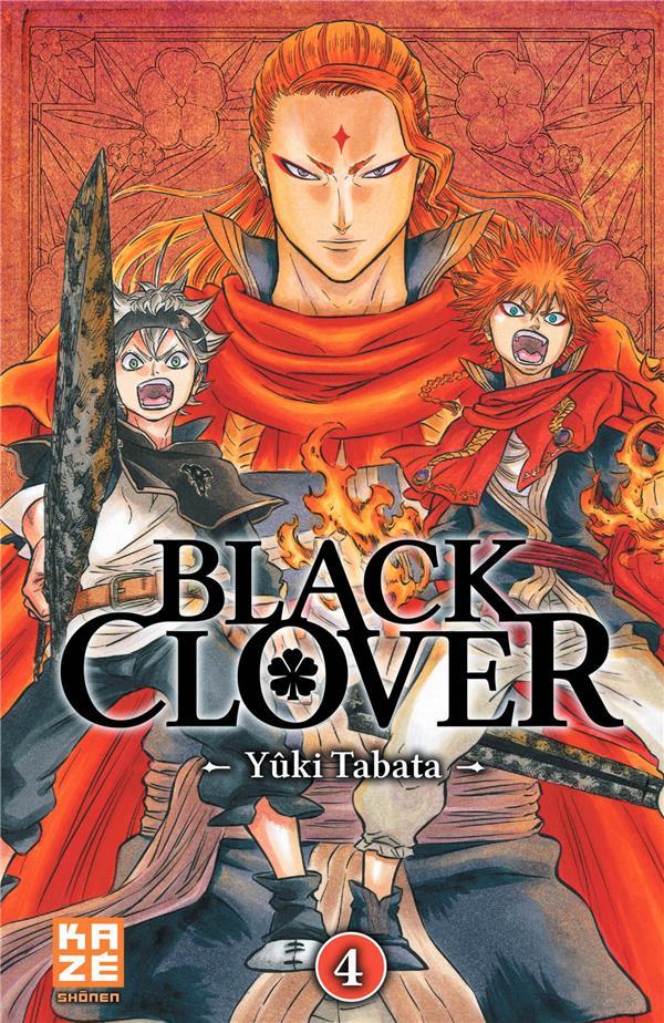 BLACK CLOVER T.4 Tabata Yûki