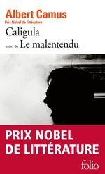 Vente Livre Numérique : Caligula / Le Malentendu  - Albert Camus