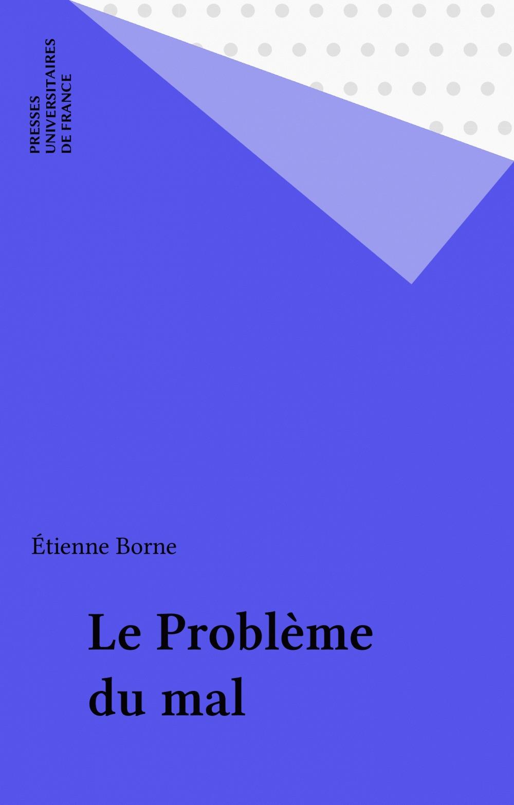 Le Problème du mal