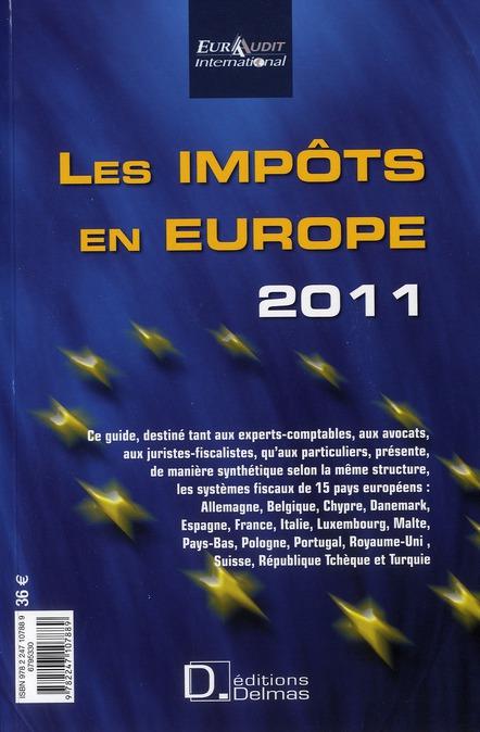 Impôts en Europe (édition 2011)
