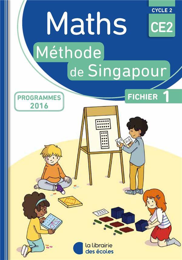Méthode de Singapour ; mathématiques ; CE2 ; fichier 1