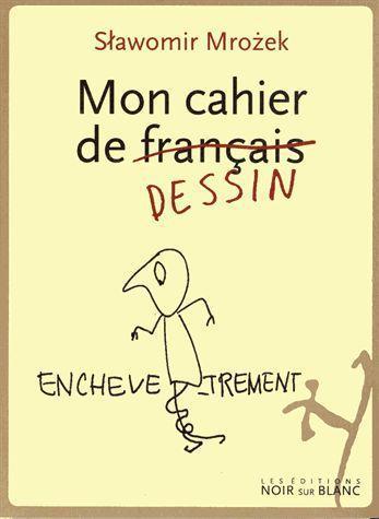 Mon cahier de français dessin