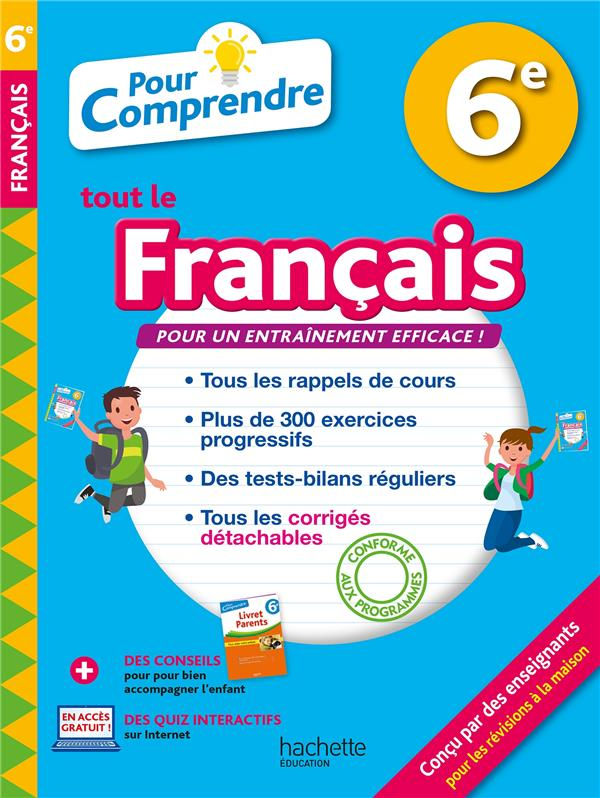 Pour comprendre tout le français ; 6e