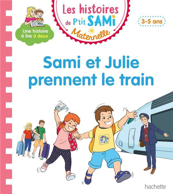 Sami et Julie prennent le train
