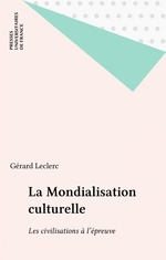 Vente Livre Numérique : La Mondialisation culturelle  - Gérard Leclerc