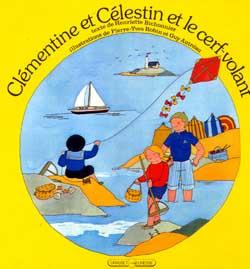 Clementine et celestin et le cerf-volant
